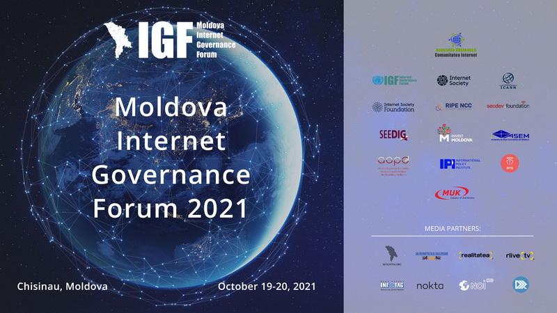 Forumul național de guvernanță a Internetului din Moldova va avea loc pe 19 și 20 octombrie