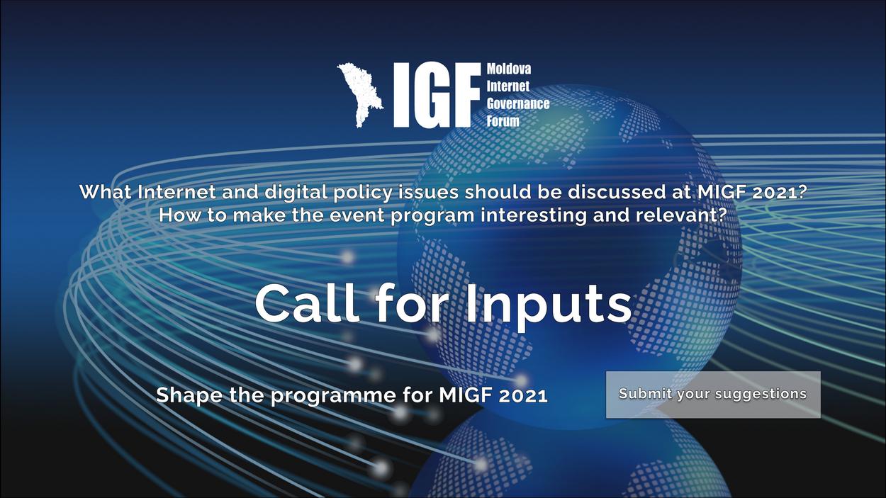S-a început procesul de planificare MIGF 2021