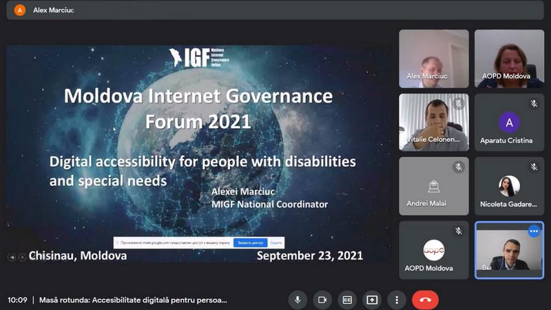 Masă rotundă: Accesibilitate digitală pentru persoanele cu dizabilități și nevoi speciale